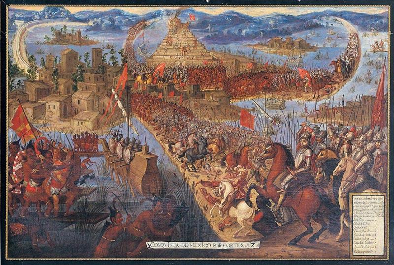 conquest of tenoctitlan
